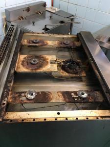 Falcon oven/ hob rebuild