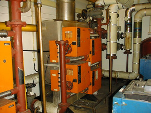 200Kw Boiler Vickers plant room
