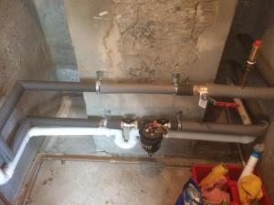 installation of intergas boiler