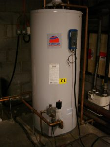 Andrews water heater gas fired